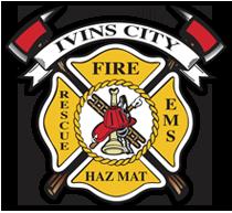 Ivins Santa Clara Fire Dept Badge