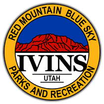 Ivins Santa Clara Rec Dept Badge