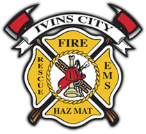 Ivins Santa Clara Fire Dept Badge