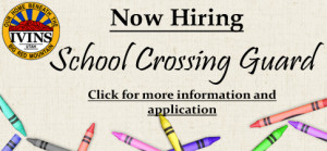 Now Hiring - Crossing Guard copy