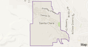 Santa Clara Map Small