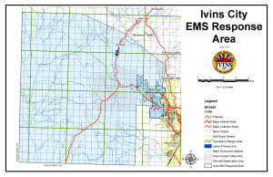 EMS Response Service Area