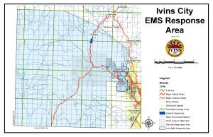EMS Response Service Area