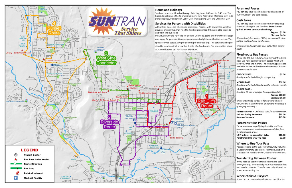SUNTRAN SERVICE MAP  WASHINGTON COUNTY   CLICK HERE FOR A LARGER MAP l2SRbZaL