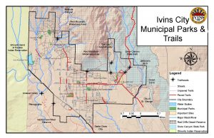 Municpal Parks & Trails Map 2014