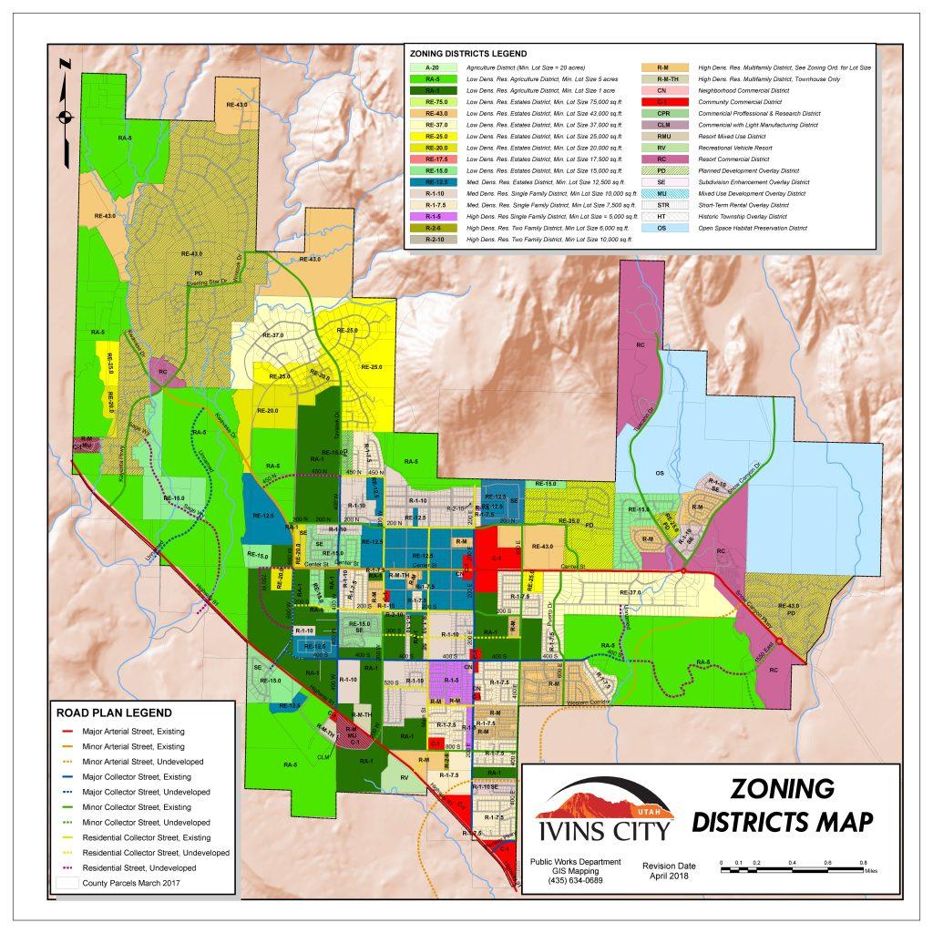 Ivins City Maps | Ivins City
